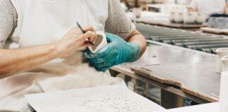 Rękawiczki nitrylowe