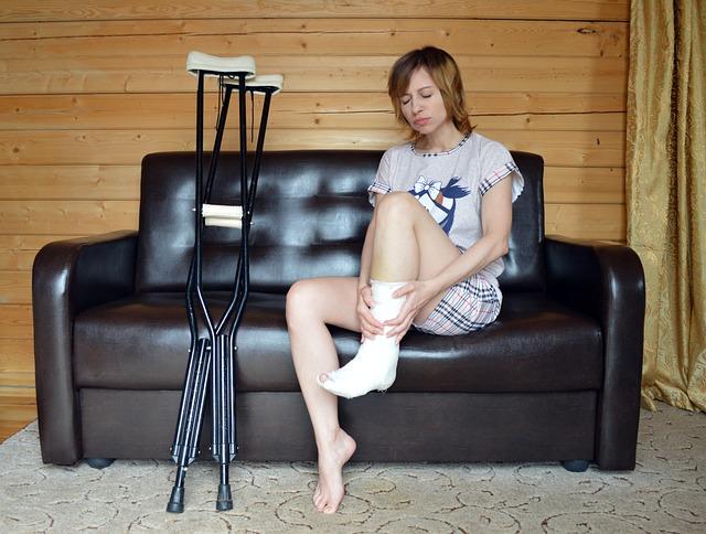 Osteoporoza prowadzi do częstych złamań kości